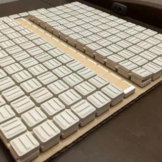 【ネット決済】20mm角施釉モザイクタイル ホワイトブライト