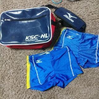 ウィングススポーツ スイミングバッグと男児スイムウェア