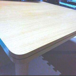 こたつ付きテーブル