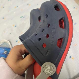 crocs サンダル17cm