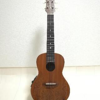 Luna Guitars エレクトリックコンサートウクレレ