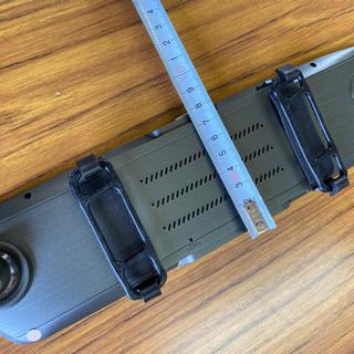vikyflyバッテリ内蔵ドライブレコーダーミラー型 7.0インチタッチ画面 高温対応 1080PフルHD 1200万画質 170度広角 デュアルドライブレコーダー Gセンサー 緊急ロック 駐車モード - 車のパーツ