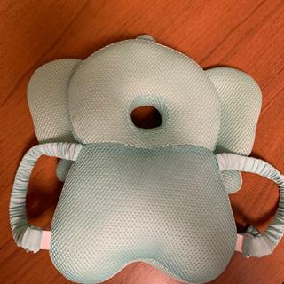 赤ちゃんの頭ガード用リュック型ぬいぐるみ ぞうさん