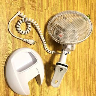 【美品、動作確認済】2wayクリップ扇風機
