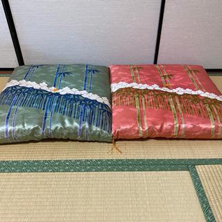 高級 座布団 2枚 - 名古屋市