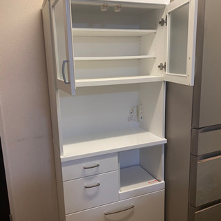 ニトリ食器棚(キッチンボード) - 名古屋市