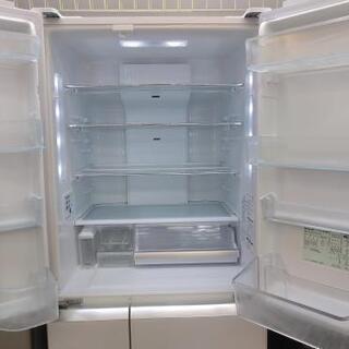 ⭐ジモティー限定特別価格⭐J026★6か月保証★6ドア冷蔵庫★Panasonic  NR-F518XG-W  2014年製⭐動作確認済⭐クリーニング済           - 名古屋市