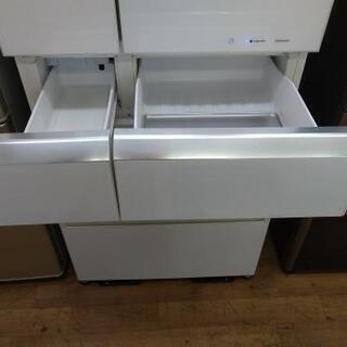 ⭐ジモティー限定特別価格⭐J026★6か月保証★6ドア冷蔵庫★Panasonic  NR-F518XG-W  2014年製⭐動作確認済⭐クリーニング済           - 家電