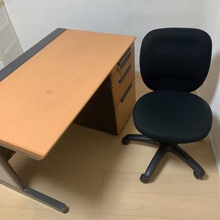 オフィスデスク パソコンデスク テレワーク 机 椅子 セッ…