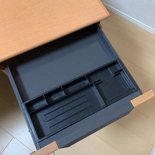 オフィスデスク パソコンデスク テレワーク 机 椅子 セット 鍵付き - 家電