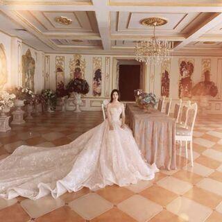 ウェディングドレス  結婚式 花嫁