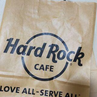Hard Rock Cafeの紙袋などなど
