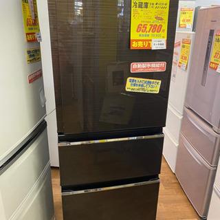 I359 MITSUBISHI 3ドア冷蔵庫 ブラウン