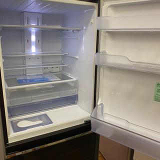 ⭐ジモティー限定特別価格⭐I359★ MITSUBISHI ★MR-CK33C-BR★2018年製★3ドア冷蔵庫★ブラウン⭐動作確認済⭐クリーニング済 - 名古屋市