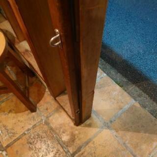 お店のドアの建て付けの修理 - 助け合い