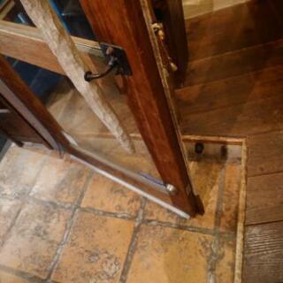 お店のドアの建て付けの修理 - 中野区