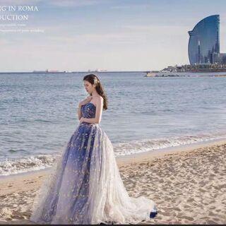 ウェディングドレス  結婚式 花嫁 二次会