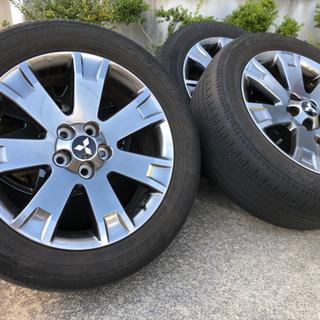 デリカd5  18インチ タイヤホイール シャモニー特別仕様