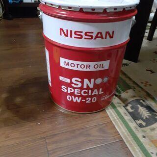0w-20 エンジンオイル 20L缶 未使用 未開封