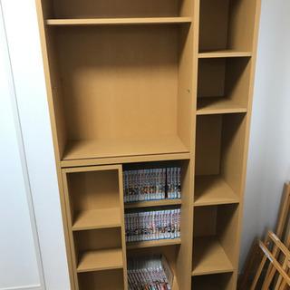 本棚 スライド 大容量の画像