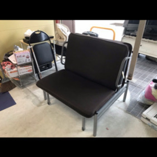 折り畳みベッド❗️リクライニング、キャスター付き✨畳んでソファーとしても使えます✨ブラウン - 売ります・あげます