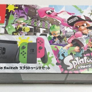 【美品】Nintendo Switch 任天堂 スイッチ スプラ...
