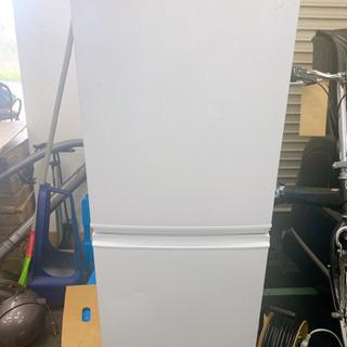 SHARP ノンフロン冷凍冷蔵庫 SJ-D14A-W 動作品