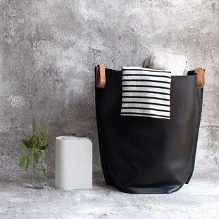 ランドリーバッグ レギュラーサイズ 黒