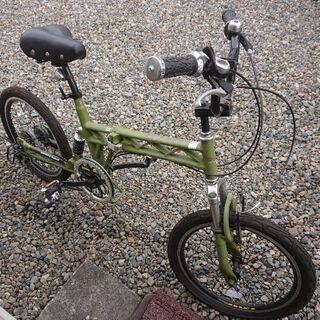前後サスペンション 6段変速 折り畳み自転車 20インチ