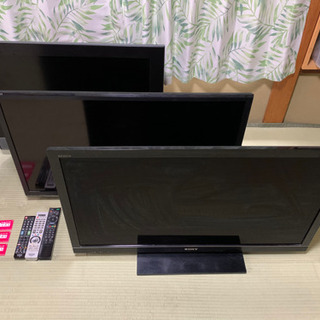 液晶テレビ 3台まとめて引取り可能な方❗️ジャンク品です。