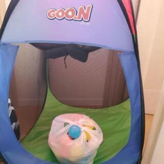 カラーボールプール テント