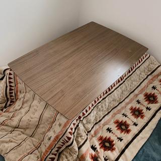 こたつテーブル ウォールナットブラウン