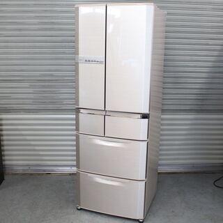 T785) 三菱 ノンフロン冷凍冷蔵庫 MR-E47S-F1 6...