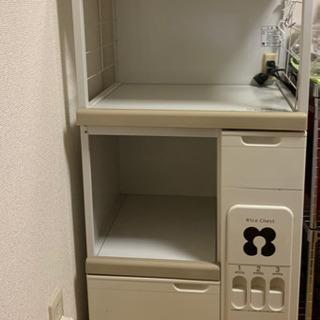 炊飯器/レンジ台 米びつ付き - 名古屋市