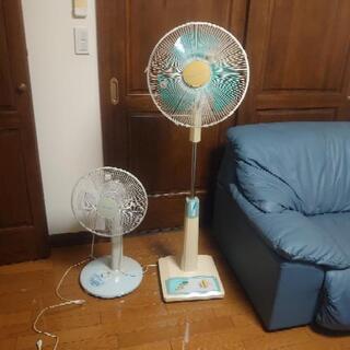 大型扇風機も小型の扇風機も同じ値段!