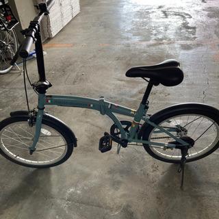 折り畳み自転車 美品