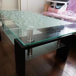 今月中引取 無料です ガラスローテーブル