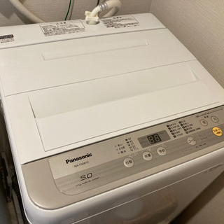 【ネット決済】【お取引決定】パナソニック 全自動電気洗濯機 NA...
