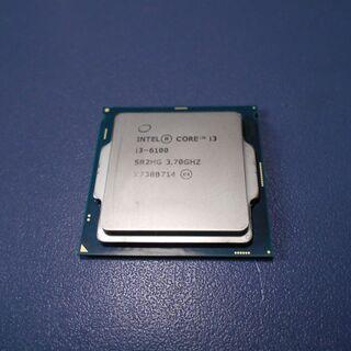 LGA1151 CPU i3-6100 中古
