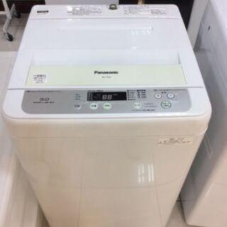 6ヵ月動作保証付 Panasonic 全自動洗濯機 5.0kg ...