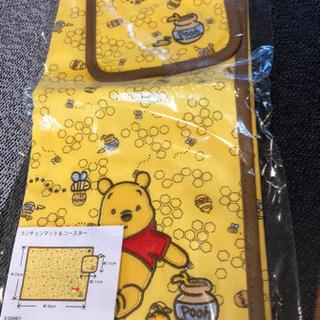【新品】プーさん ランチョンマット&コースター 東京ディズ…