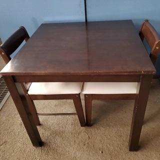 ニトリ ダイニングテーブル 食卓テーブル 椅子2脚セット