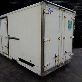 トラックコンテナ 箱 2t 3700x1830x2030 アルミ...