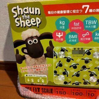 【新品未使用】体組識計 羊のショーン