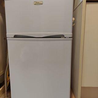 【あげます】冷蔵庫 96L アビテラックス  2011年製