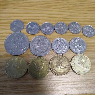 【お得】ニュージーランド硬貨9ドル20セント