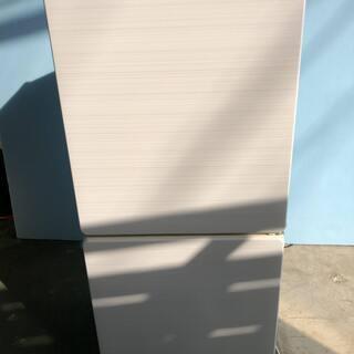 U-ing ユーイング 2ドア ノンフロン冷凍冷蔵庫 110L ...