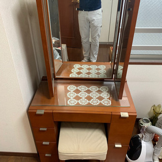 アンティーク調化粧台セット