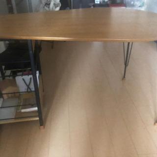 【無料】アイアン ダイニングテーブル【テーブルのみ】