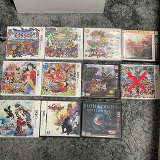 格安 3DS ll 10点セット カセット ゲームソフト DS ...